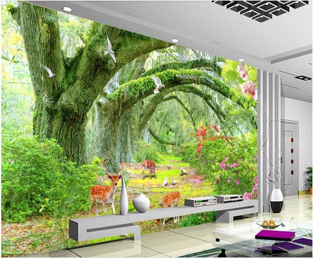 3d photo wallpaper custom mural woodland meadow landscape home decor3d photo wallpaper custom mural woodland meadow landscape home decor living room 3d wall mural wallpaper for walls 3 d hd wallpaper hd wallpaper a from
