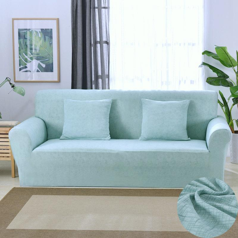 Geometric Cross Sofa Cover Modern All Inclusive Slip Resistant Sofa ...