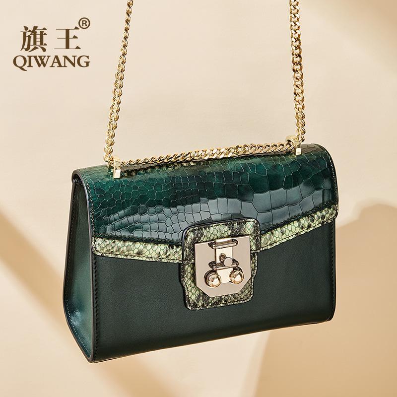 4d48b5408b81 Fashion Women Flap Bags Genuine Leather Luxury Brand Female Clutch Messenger  Bag For Lady Shoulder Crossbody Bags Bolsa Feminina Shoulder Bags For Men  ...
