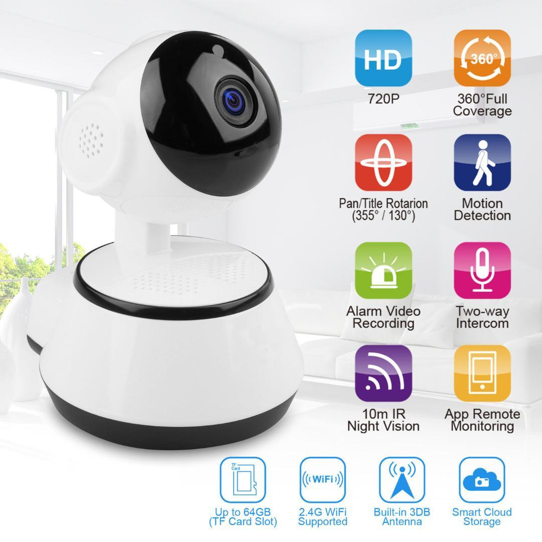 Baby Monitor Home Security WiFi IP Camera 720P HD Wireless Smart Baby  Camera Audio Video Record Surveillance Wholesale