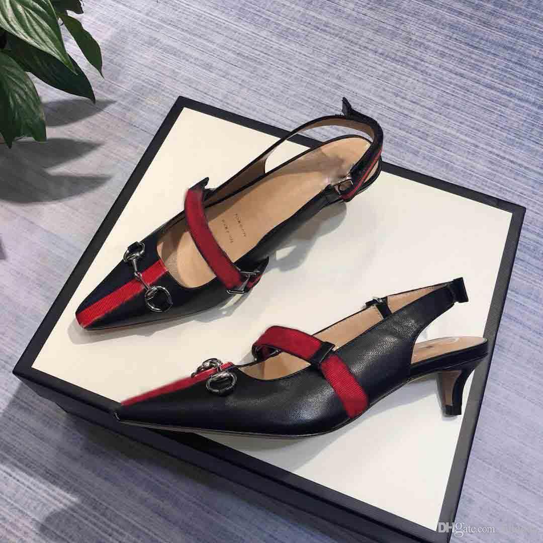 new arrivals 33b91 41f04 2019 Scarpe da donna di mezza età di lusso, scarpe da cerimonia da donna di  lusso, tacco medio, misura: 35-40