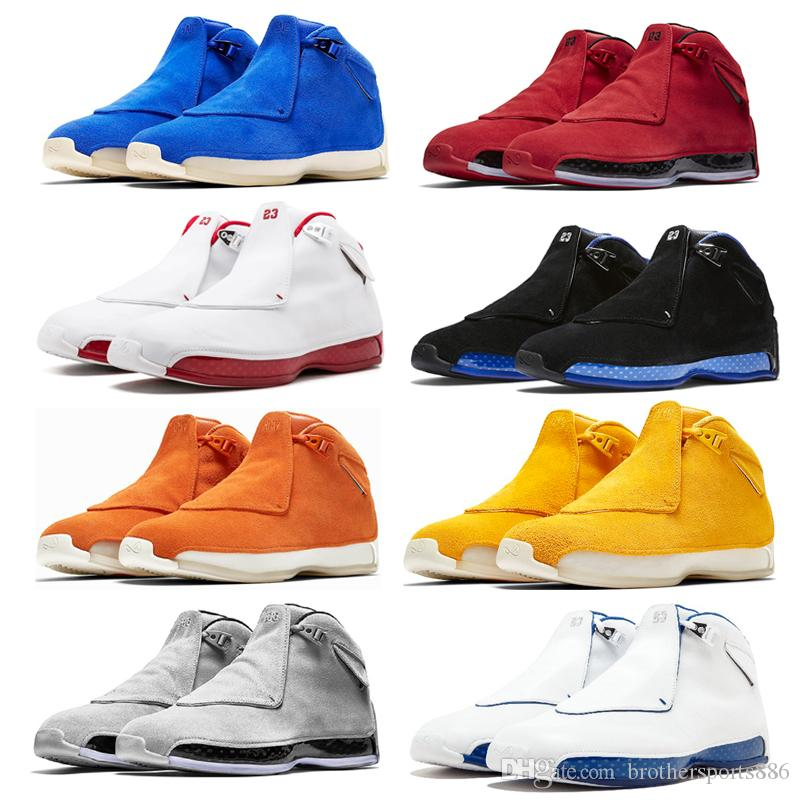 7542a077e1c7 2019 2019 New Arrival 18 Basketball Shoes Sport Royal Men Basketball ...