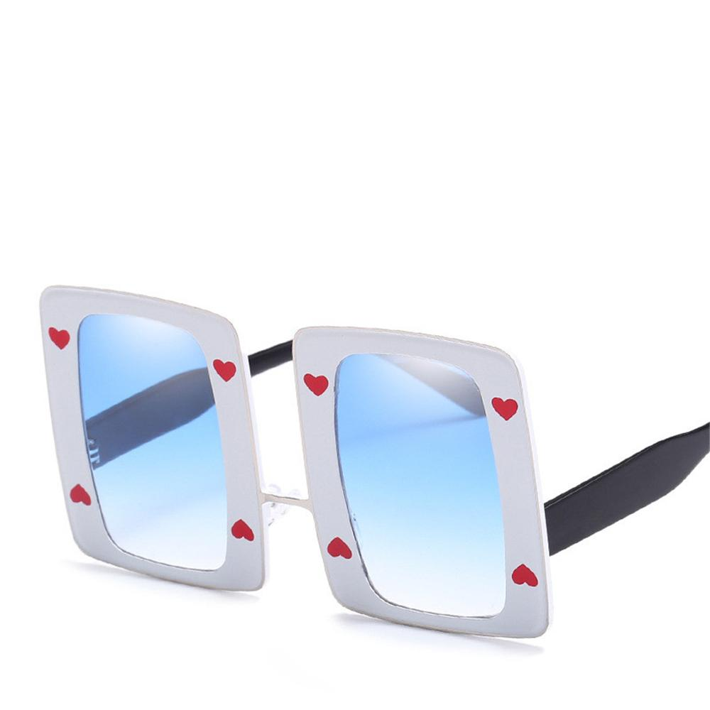 9596e336a3 New Love Heart Couples Sunglasses Luxury Women Men Brand Big Frame Shade  Glasses Top Quality UV Protection Eyewear Popular Street Sunglasses  Sunglasses At ...