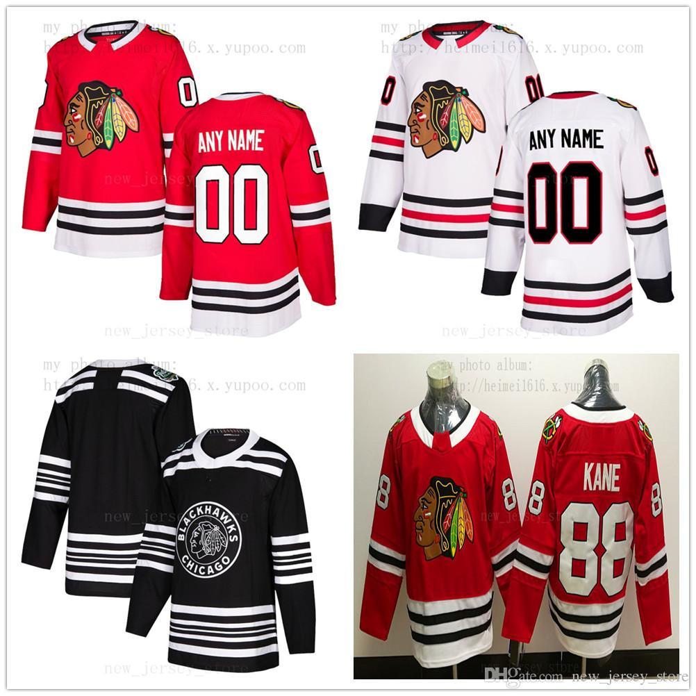 Custom Chicago Blackhawks Hockey Jersey New 68 Slater Koekkoek 16 Marcus  Kruger 5 Connor Murphy 11 Brendan Perlini 17 Dylan Strome Cam Ward