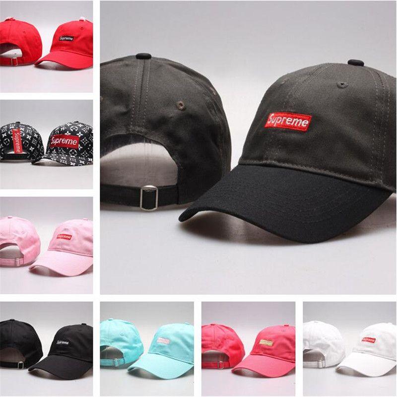 Acquista Supreme Nuovo Arrivo Bonnet Multi Colori Coppia Cappelli Di Marca  Donne Cappelli Di Design Cappellini Uomo Donna Berretto Da Baseball  Selvaggio ... 00dcc3d466a5