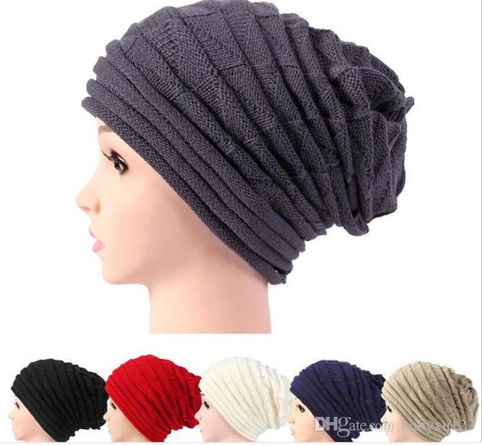 f5eb207ca8428 2019 Bonnet FemmeHat Winter Hat Female Winter Beanie Crochet Knit Warm Hats  For Women Cap Y310 From Babyxu123