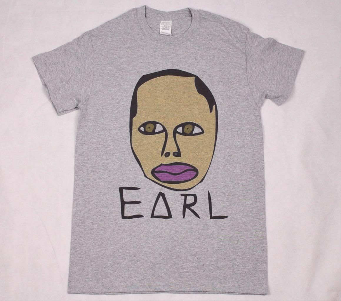2601fb85796b46 Earl Sweatshirt Grey T Shirt S 3XL Hiphop Rap Kanye Tyler Odd Future Uzi  VertFunny Unisex Casual Tshirt Top 24 Hour T Shirt Rude Tshirts From  Pepitaprint