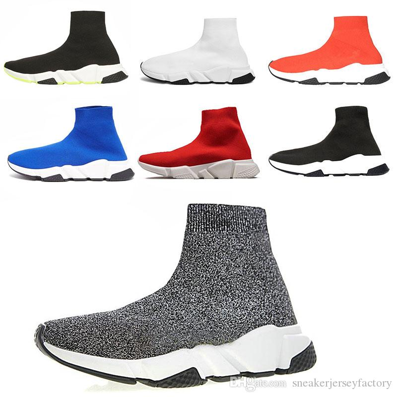 Chaussure Blanc Triple Marque Rouge Trainer Noir De Luxe S Chaussures Mens Course Balenciaga Runner Speed Trainers VqGUMzSp