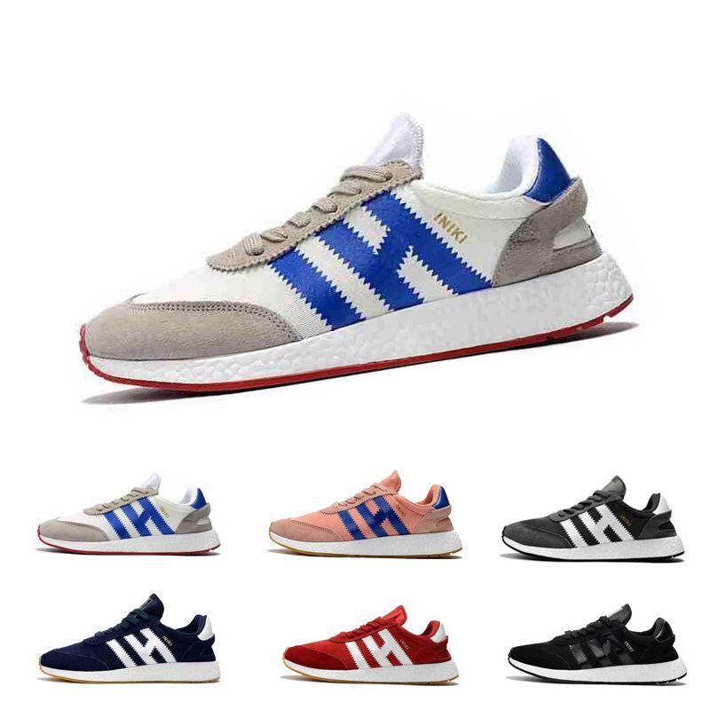 5f0205d5 Compre Tamaño 36 45 Iniki Runner Running Shoes For Men Mujeres Real Quality  Original Negro Blanco Iniki Runner Designer Sport Zapatillas De Deporte ...