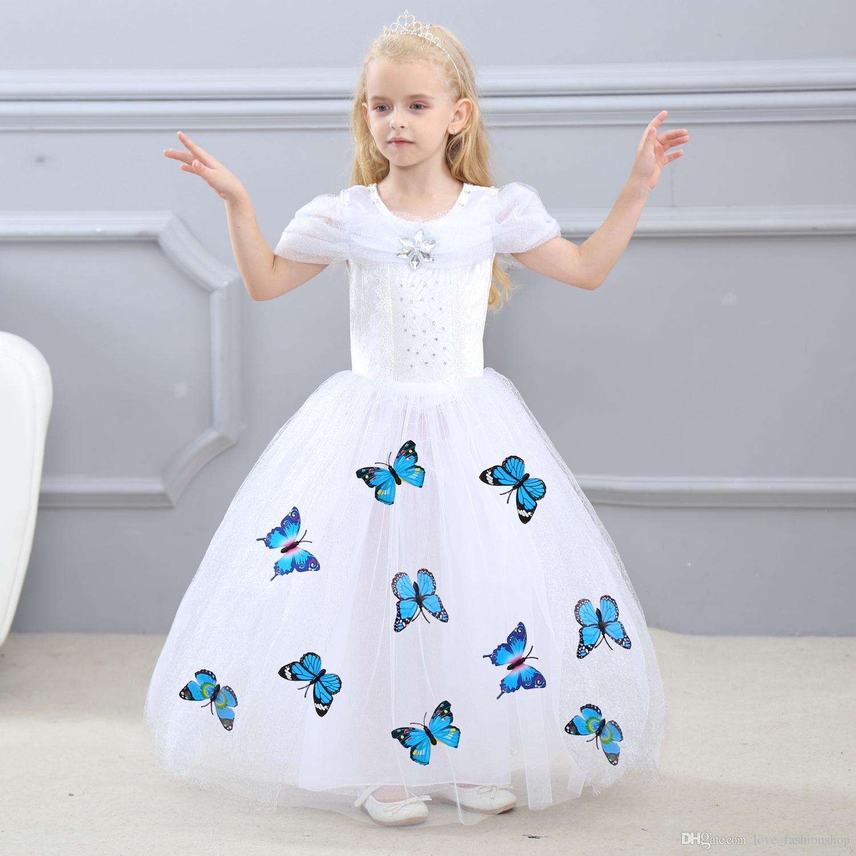 Kleider Kinder Tragen Europa Und Vereinigten Staaten Sommer Mädchen Floral Spitze Hülse Kleid 2019 Neue Böhmische Mädchen Prinzessin Kleid