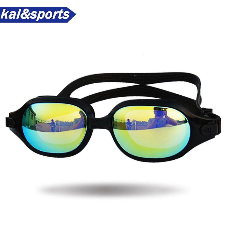 333dc7e53d Compre Gafas De Natación De Calidad Superior Nadar Gafas Hombre Mujer  Impermeable Anti Niebla Gafas Piscina Accesorios De Silicona A $39.9 Del  Hongmihoutao ...