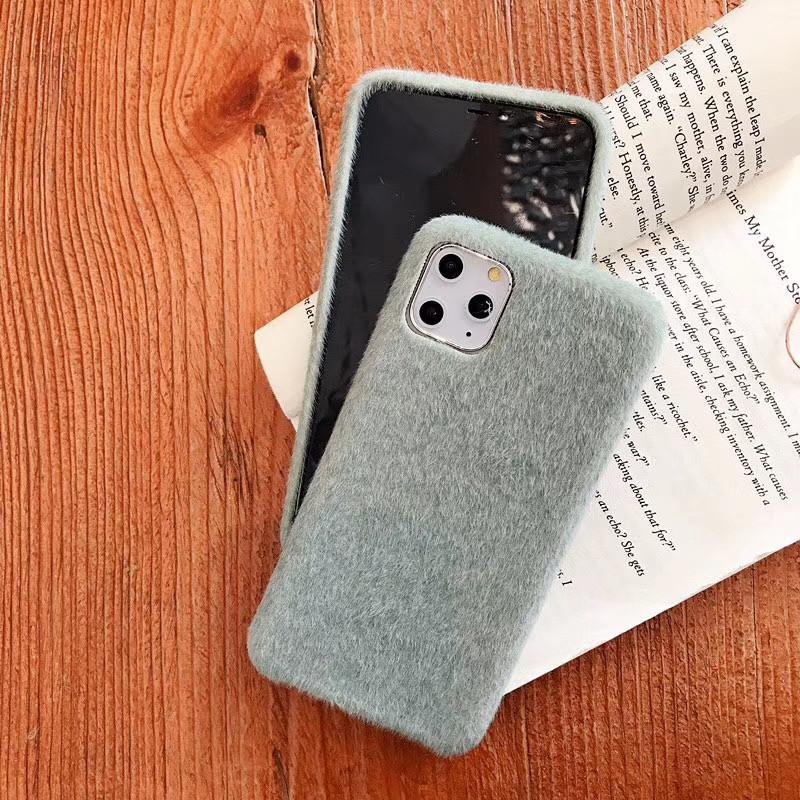 One Piece Luxury phone case For iPhone 6S 7 8P XS 11PRO 11PROMAX fashion texture of horse hair Designer phone case back cover