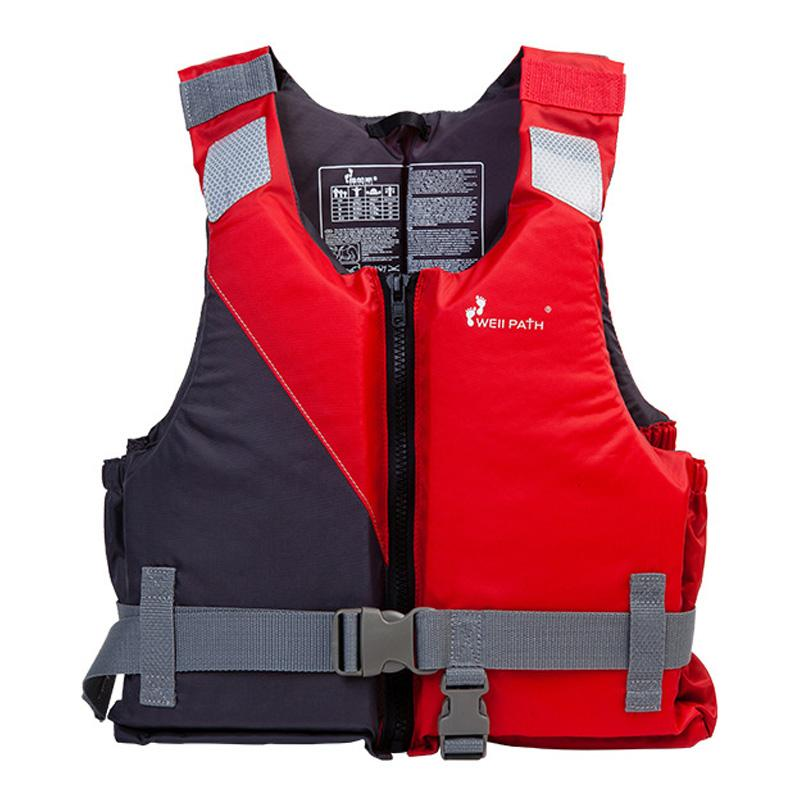 Men's Fishing Vest Adult Water Sport Safety Life Vest Foam Flotation Swimming Life Jacket Buoyancy Women Snorkeling