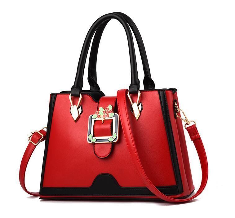 377af95c1e68 Handbags for Women Large Designer Ladies Shoulder Bag Bucket Purse Luxury  Brand PU Leather Big Capacity Top-Handle Bags Women Bags Women Handbags  Women ...