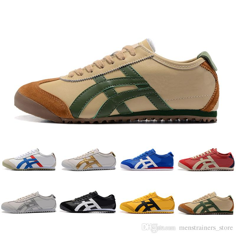 online store ecda6 63ddb Top Fashion Onitsuka Tiger Running Shoes For Men Women Athletic Outdoor  Boots Brand Sports Mens Trainers Sneakers Designer Shoe Size 36-44