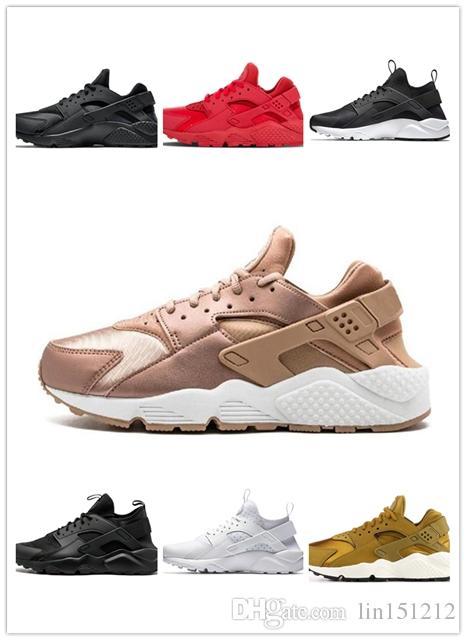 detailed look a3ed6 75b73 Großhandel 2019 Billig Klassische Neue Huarache Weiß Schwarz Rot Männer  Frauen Huarache Schuhe Huaraches Sport Sneakers Laufschuhe Größe EUR 40 45  Von ...