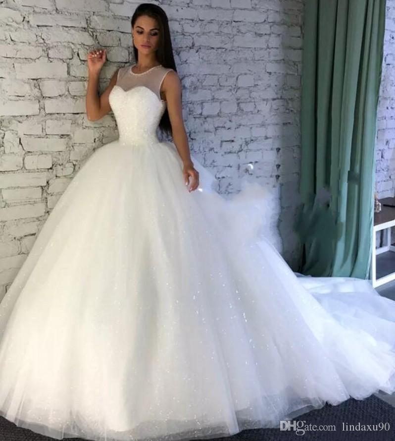 Sprakling Dress Wedding Material