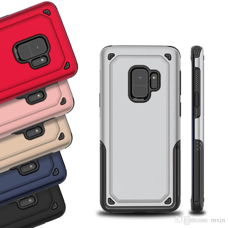 Hybrid Robot Rugged Armor TPU PC Case For Samsung J2 Prime G530 J5 2016 J7  Pro J4 J6 Plus J8 2018 RedMi Note 5 OPPO A37 A39 A59 A77 F5 A71