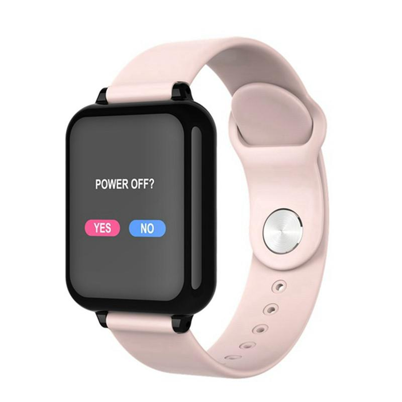 Smart Watches 2019 New B57 Smart Watch Men Waterproof Heart Rate Monitor Blood Pressure Sport Smartwatches Women For Ios Android Xiaomi Huawei Smart Electronics
