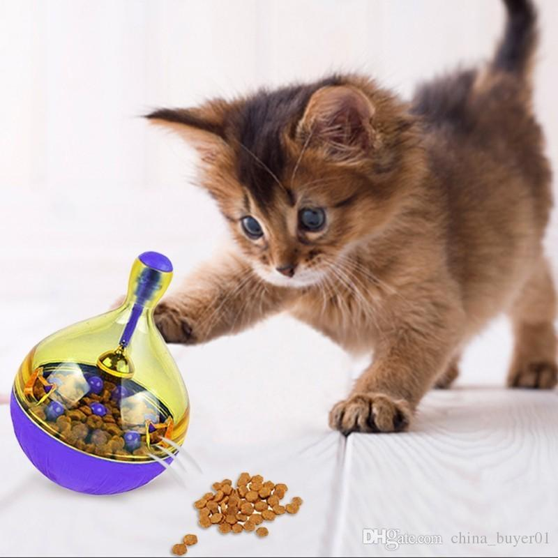 Fun Bowl Pets Cats Dogs Feeders Puppy Kitten Food Tumbler Leakage Balls Toys Feeder Pet Feeding Training Suppliers Making Things Convenient For The People Pet Products Home & Garden