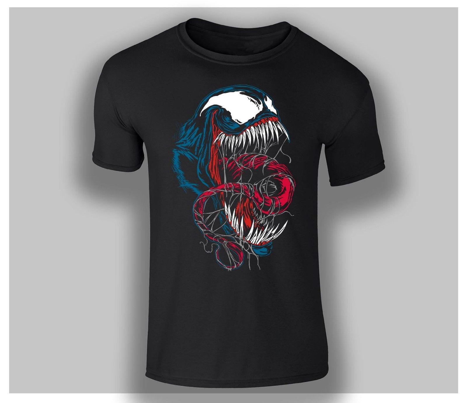 Compre Marvel Venom Movie 2018 Tom Hardy T Shirt Camiseta Top Todos Los  Tamaños DTG 4 Divertido Envío Gratis Unisex Camiseta Casual Top A  10.28  Del ... f8209011acfc1