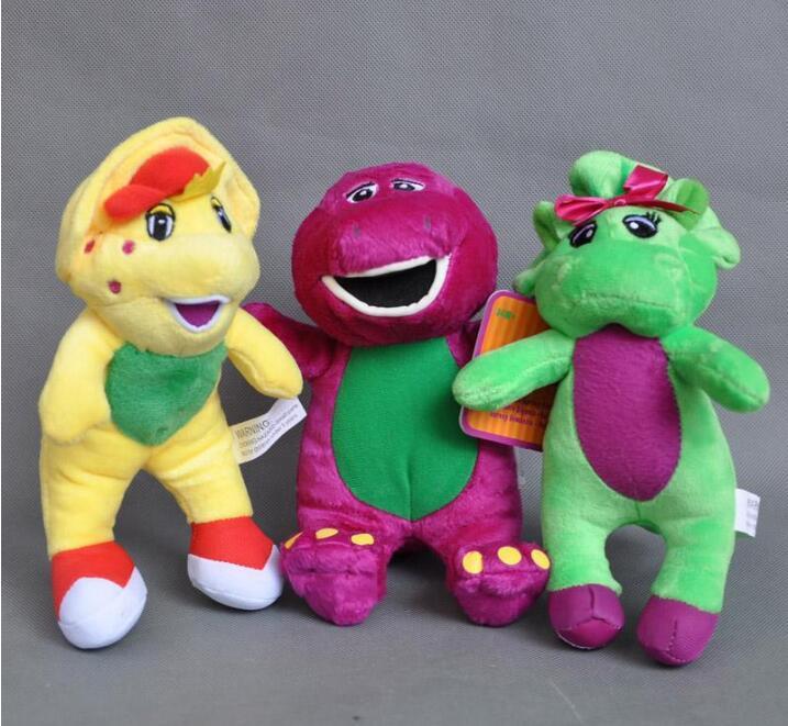 Cute 3x Barney & Friend Baby Bop BJ Plush Doll Stuffed Toy Best Gift For  Kids 7 NEW