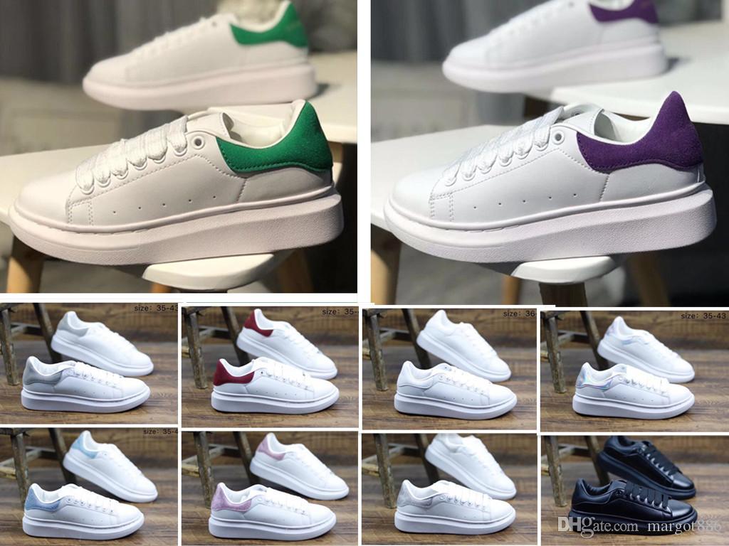 4a277a78 Compre Lujo Negro Zapatos Casuales Con Cordones Diseñador Comfort Pretty  Girl Mujer Zapatillas De Deporte Casuales Zapatos Para Mujer Zapatillas 36  40 A ...