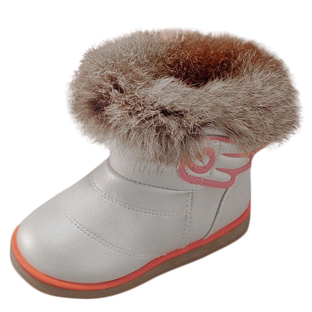Suave Cálido Clásico Recién Nacido Bebé Niña Niño zapatos Otoño Invierno Felpa Gruesa Caliente Botas de Nieve Niños Estilo Simple Sólido Zapatos para