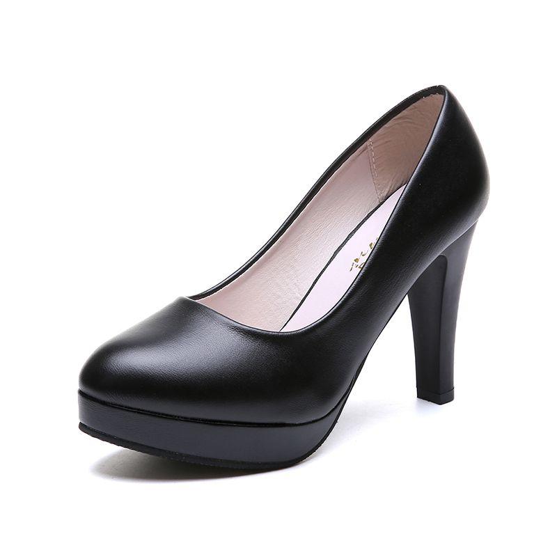 1693115109f8 Dress Shoes Elegant Office Women Pumps Pointed Toe Black Heels Fashion Slip  On Shallow Ladies Pumps High Heel Female Pumps Mens Dress Boots Men Sandals  From ...