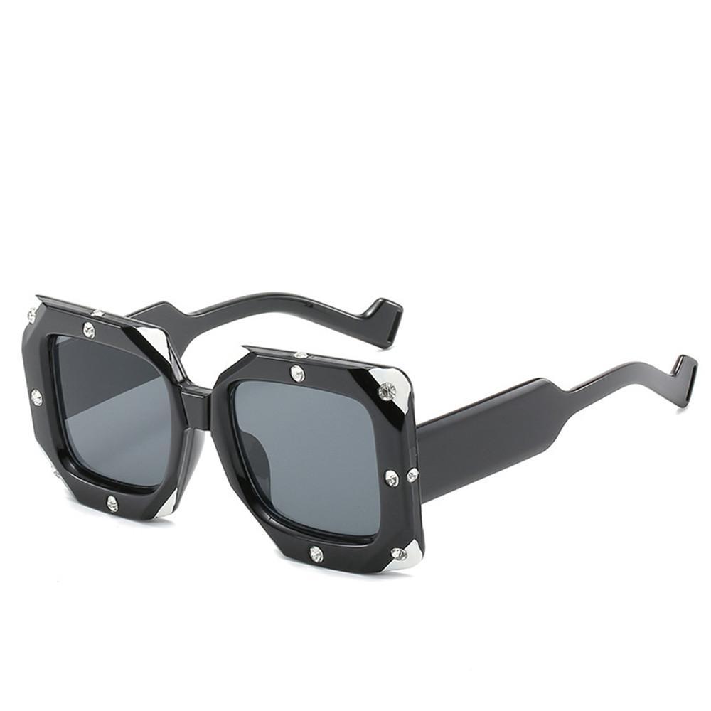 2bde88aca60f MINCL  2019 New Square Diamond Sunglasses Clear Lens Fashion Glasses  Women S Brand Designer High Quality Metal Sunglasses FML Sunglasses At  Night Lyrics ...