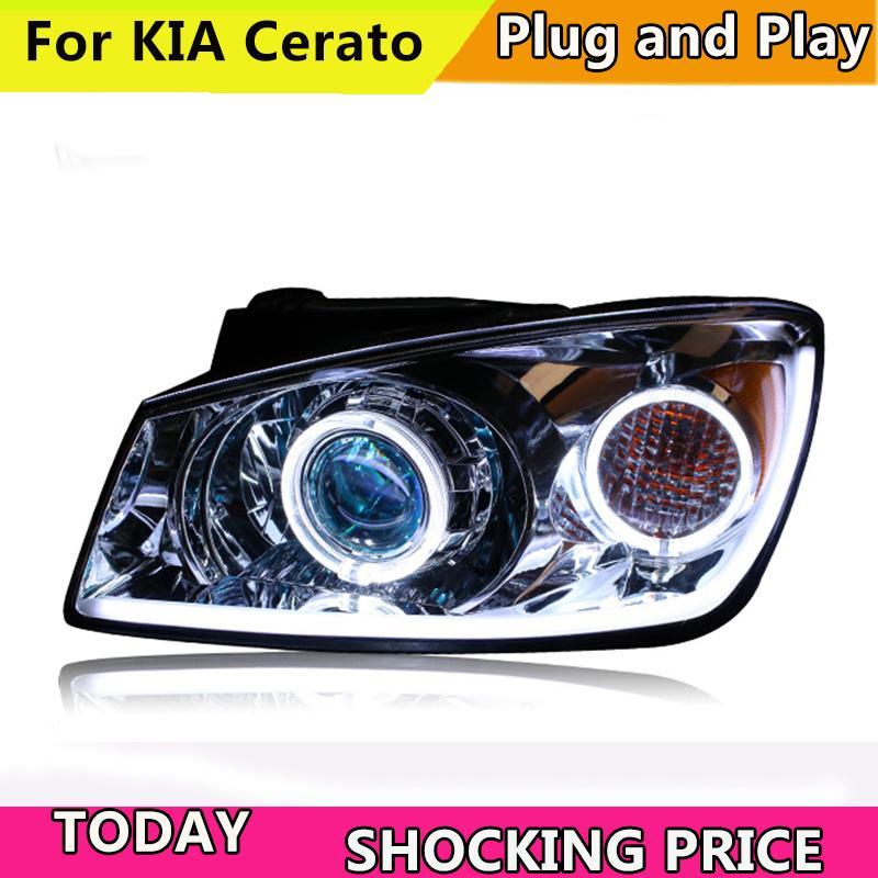 2019 Car Styling For Kia Cerato Headlights 2005 2007 Cerato