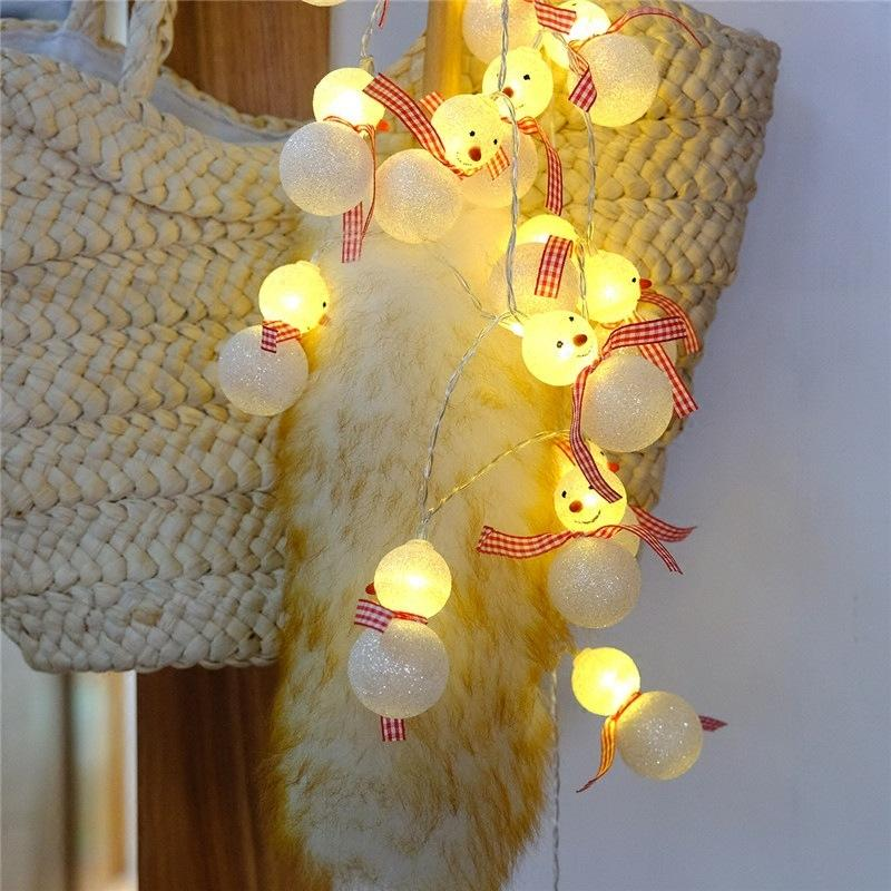 Led Christmas Lights For Room.Heat Sell Led Christmas Lights Snowman String Battery Lamp Room Bedroom Decoration Articles Outdoors Small Coloured Lights