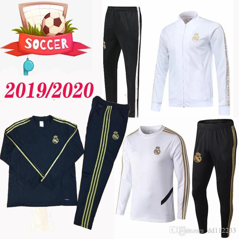 45a71dd21c Compre Conjunto De Chaqueta Chándal Del Real Madrid 2019 2020 ...