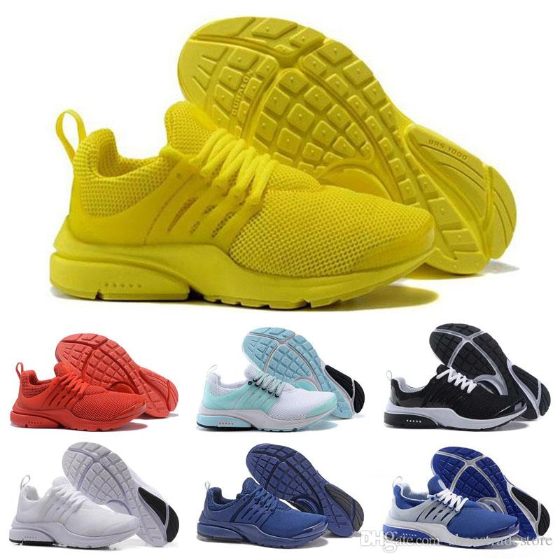 best sneakers b4697 0b425 Best Quality Prestos 5 V Casual Shoes Men Women 2019 Presto Ultra BR QS  Yellow Pink Black Oreo Outdoor Sports Fashion Jogging Sneakers Work Shoes  Sneakers ...