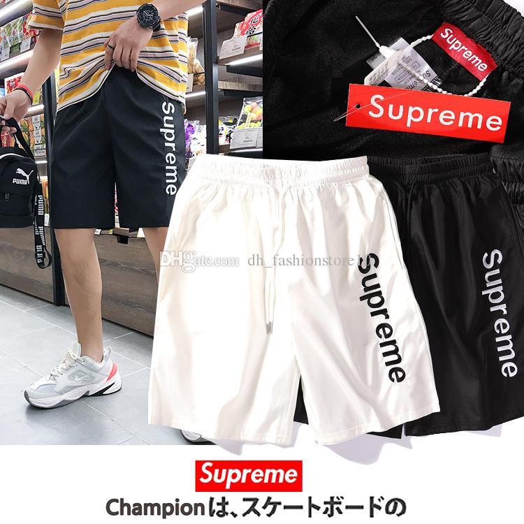 2b1f0423484 2019 Dickies Mens Designer Short Pants Street Basketball Shorts Logo  Printing Fear Of God Clothes Streetwear Pants Beach Leisure Shorts Suprême  From ...