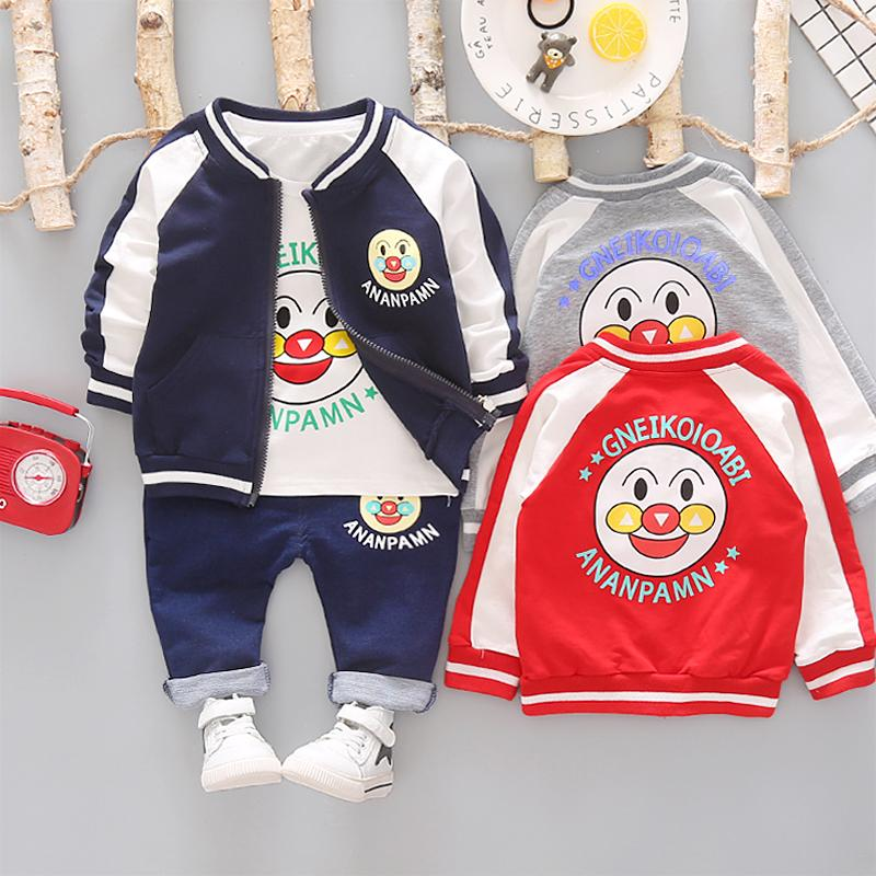 28687035bbc69 2019 HYLKIDHUOSE Baby Girls Boys Clothing Sets 2019 Autumn Infant Clothes  Suits Casual Coats T Shirt Pants Cartoon Kids Child Suits From Superbest19