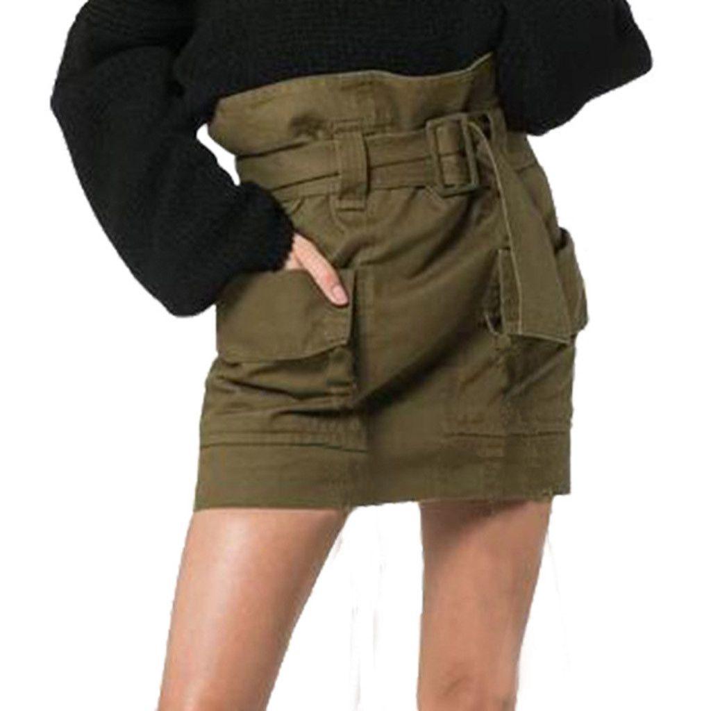 12124df017 Women's Belt Slim Pack Hip Flower High Waist Personality Pocket ...