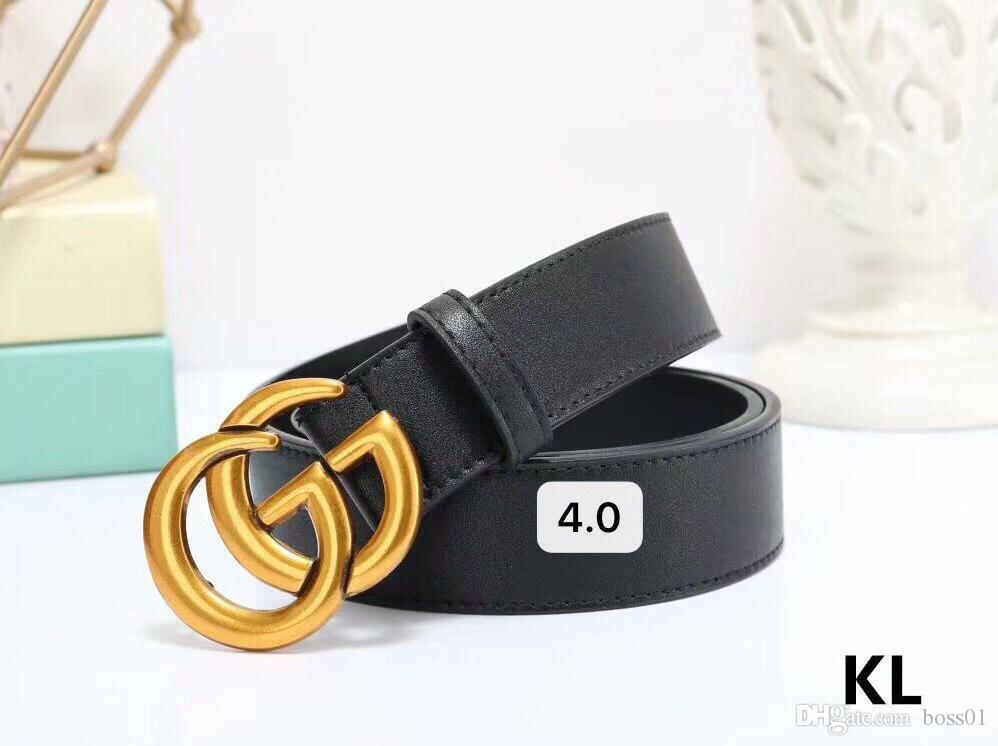 2020 luxury belt fashion brand belt men's and women's brand designers belts gold buckles party jeans free shipping + With box06