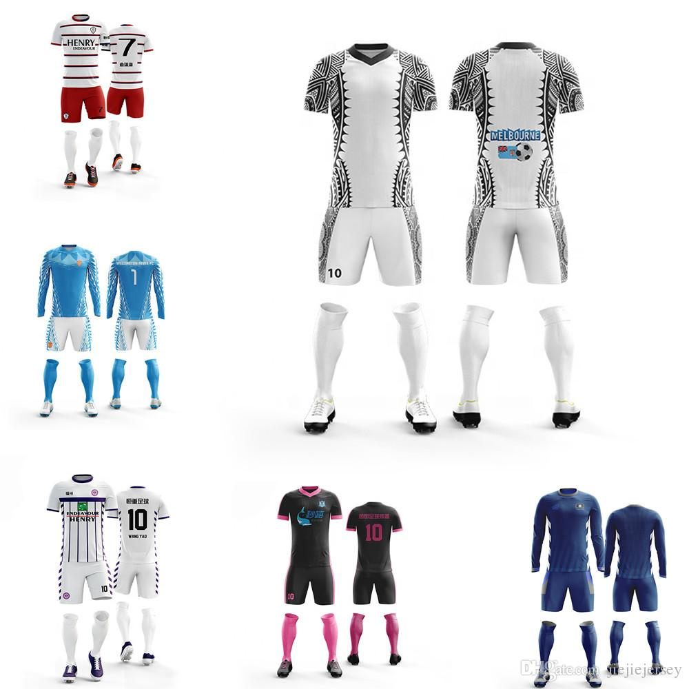 ef70667ae 2019 Custom Sublimated Football Uniforms Cheap Soccer Uniforms From China  Design Your Own Football Shirt Jersey From Jiejiejersey