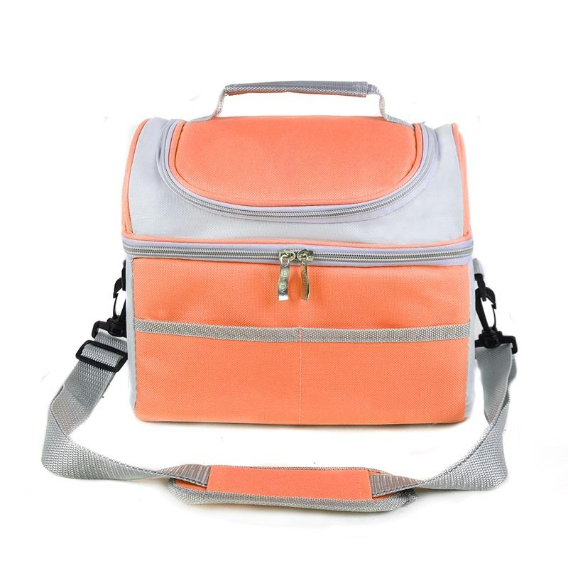 483e1db56f42 Insulated Lunch Box Kit Adult Lunch Bag for Men Women Reusable Large  Capacity Cooler Tote Bag with Adjust Shoulder Strap