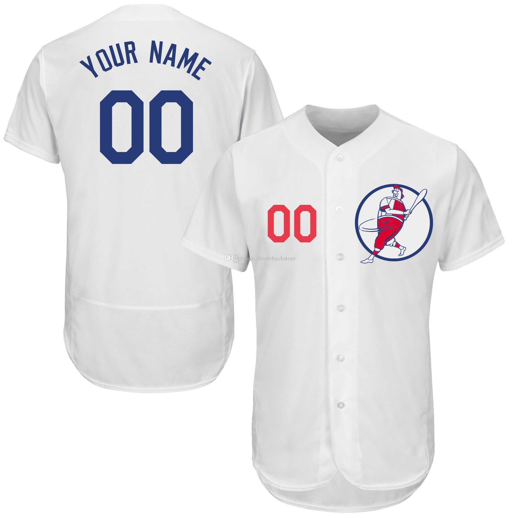 cb1398f11 2019 Men 2019 Custom Baseball Jerseys Size S XXXL Any Name Any ...