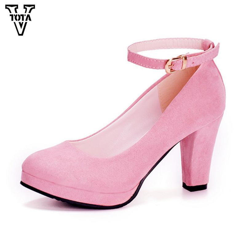 047f87d1bbe Compre Zapatos De Vestir De Diseñador VTOTA Mujer De Otoño Tacones Altos De  Las Mujeres Atractivas Bombas De La Fiesta De La Novia Talón Fino Dedo Del  Pie ...