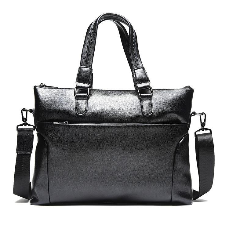 db1c01df52356 Großhandel Neue Mode Tasche Männer Aktentasche Pu Leder Business Mann  Laptop Messenger Bags Beiläufige Handtasche Für Männer Umhängetasche Bolso  Hombre Von ...