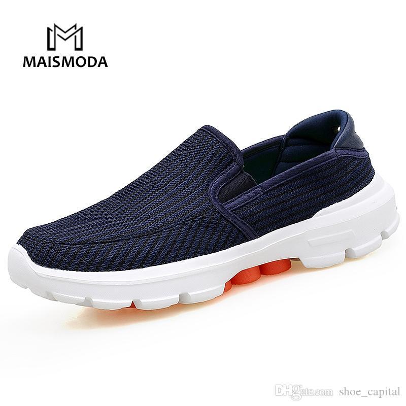 71b2c359 Compre MAISMODA Zapatos Hombre Tallas Grandes 37 45 Zapatos Casuales Slip  On Malla De Aire Transpirable Mocasines Para Hombres Mocasines Zapatillas  De ...