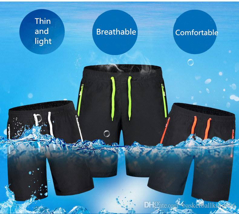 Men's Beach Trousers Quick Drying Shorts Outdoor Sports Pants Casual Shorts Frivolous High Elasticity and Comfortable
