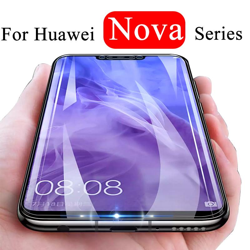 For Huawei nova 3 3i 2i 2 i plus protective glass on huavei nova3 nova3i  nova screen protector hauvei nova2 i2 i3 tempered glas