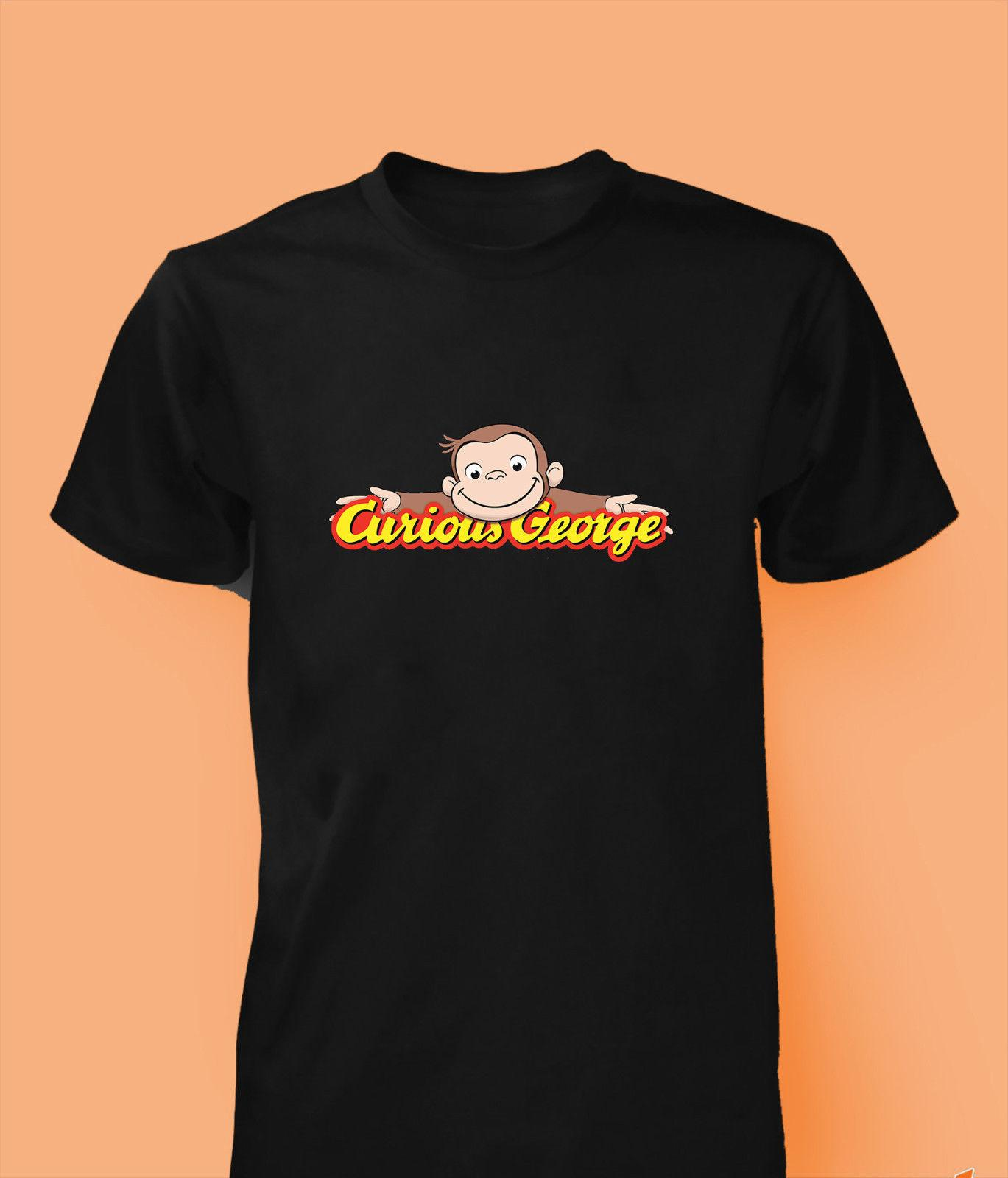 3148666ba2dea Curious George T Shirt Cartoon Game Youtube Monkey Kids Men Women Top Funny  Unisex Casual Tshirt Top Buy Shirt Designs Funny Clever T Shirts From ...