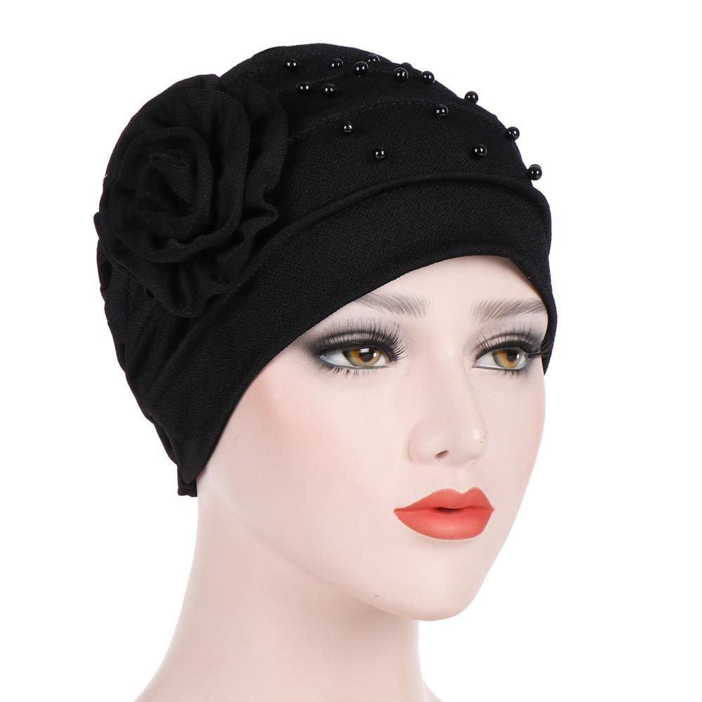 2018 Fashion Winter Hats For Women Crochet Knit Black Cap Skullies Beanies  Warm Caps Female Knitted Stylish Hat Ladies Crochet Beanie Pattern Beard  Beanie ... 8feb02c6bd