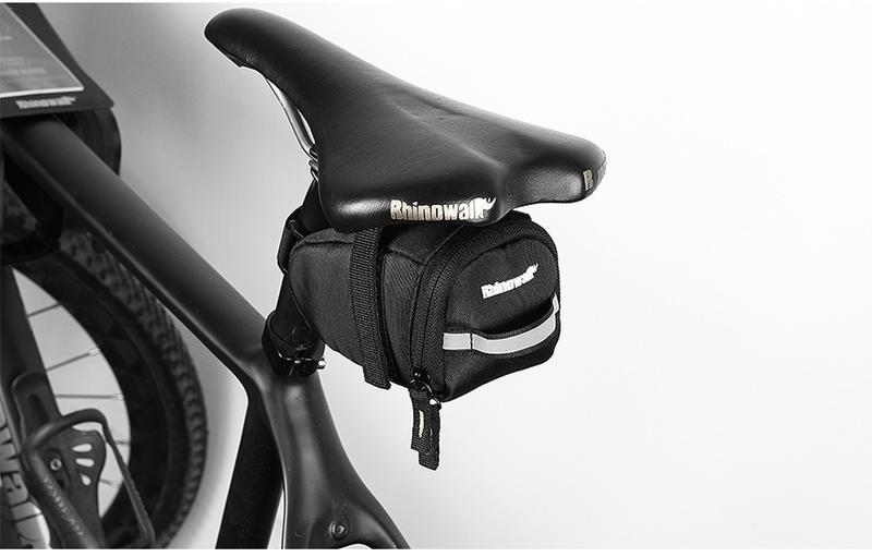 1L Waterproof Outdoor Bike Bicycle Cycling Saddle Bag Seat Storage Tail Pouch