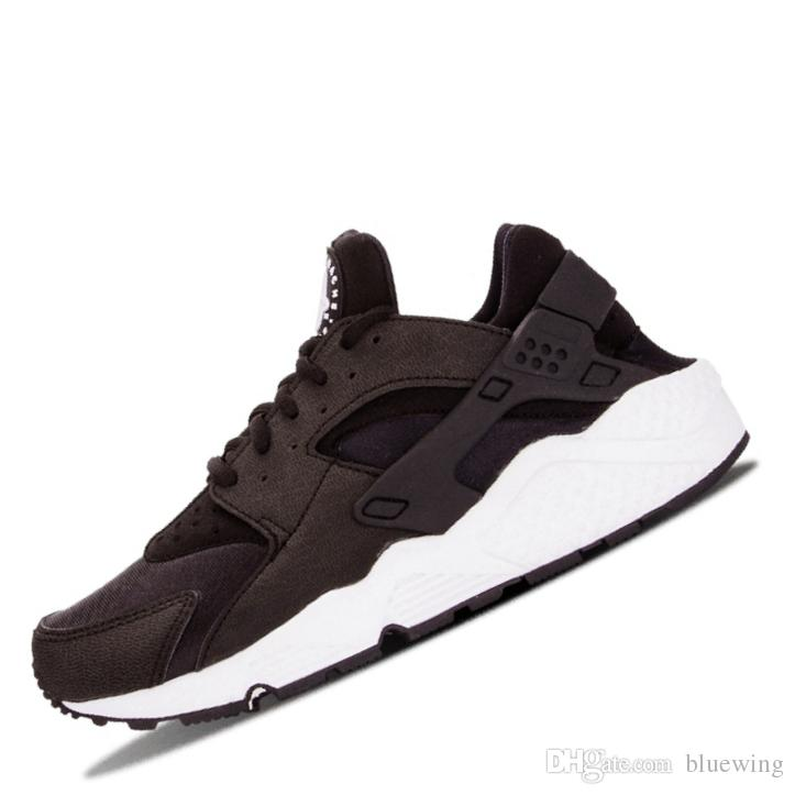 designer fashion 071d2 ece7f Compre ¡¡Caliente!! 2019 Huarache 1.0 4.0 Zapatillas De Running Para Hombre  Triple Negro Blanco Dorado Rojo Moda Huaraches Zapatillas De Deporte Para  Hombre ...